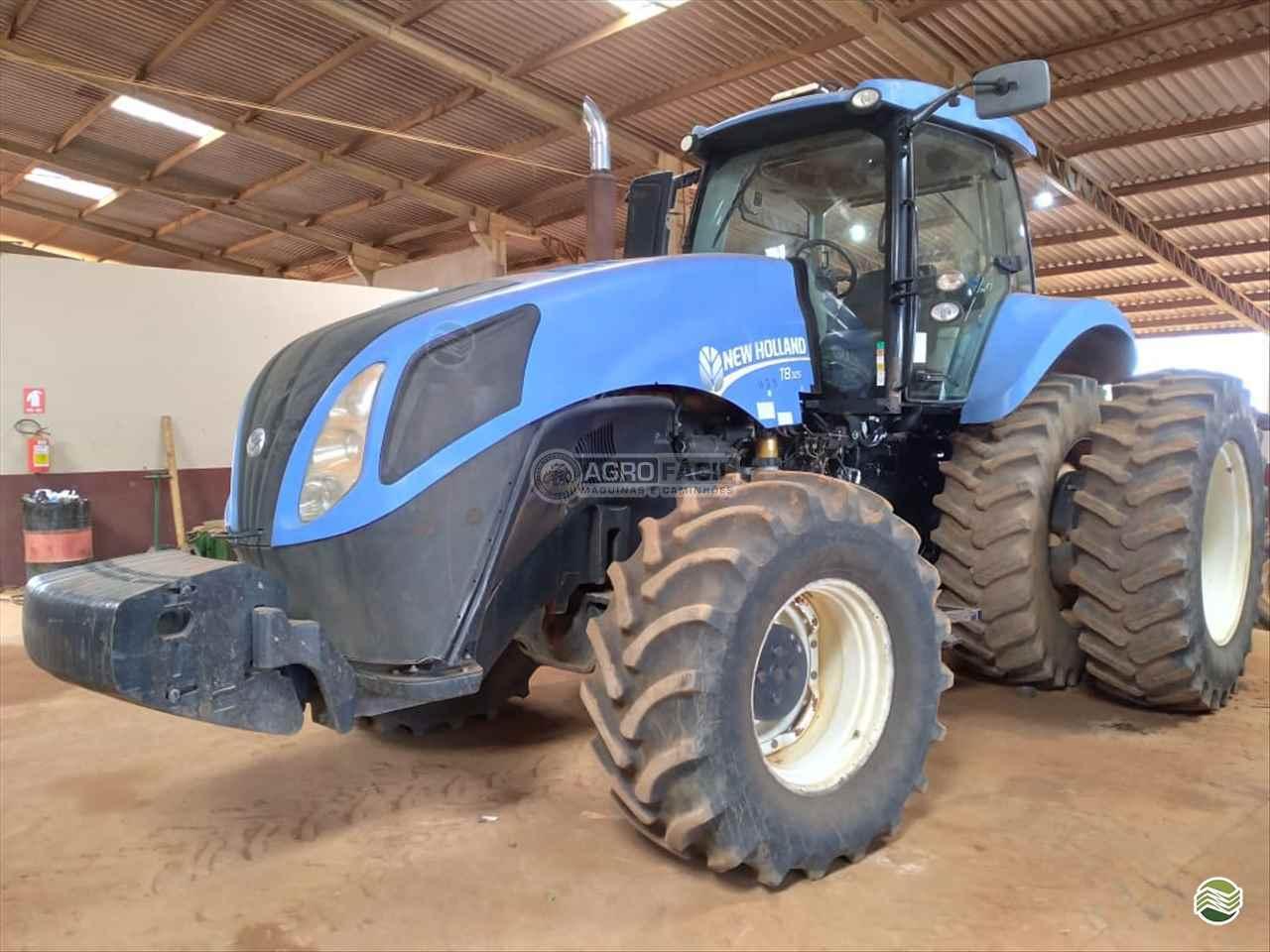 TRATOR NEW HOLLAND NEW T8 325 Tração 4x4 Agro Fácil Máquinas PRIMAVERA DO LESTE MATO GROSSO MT