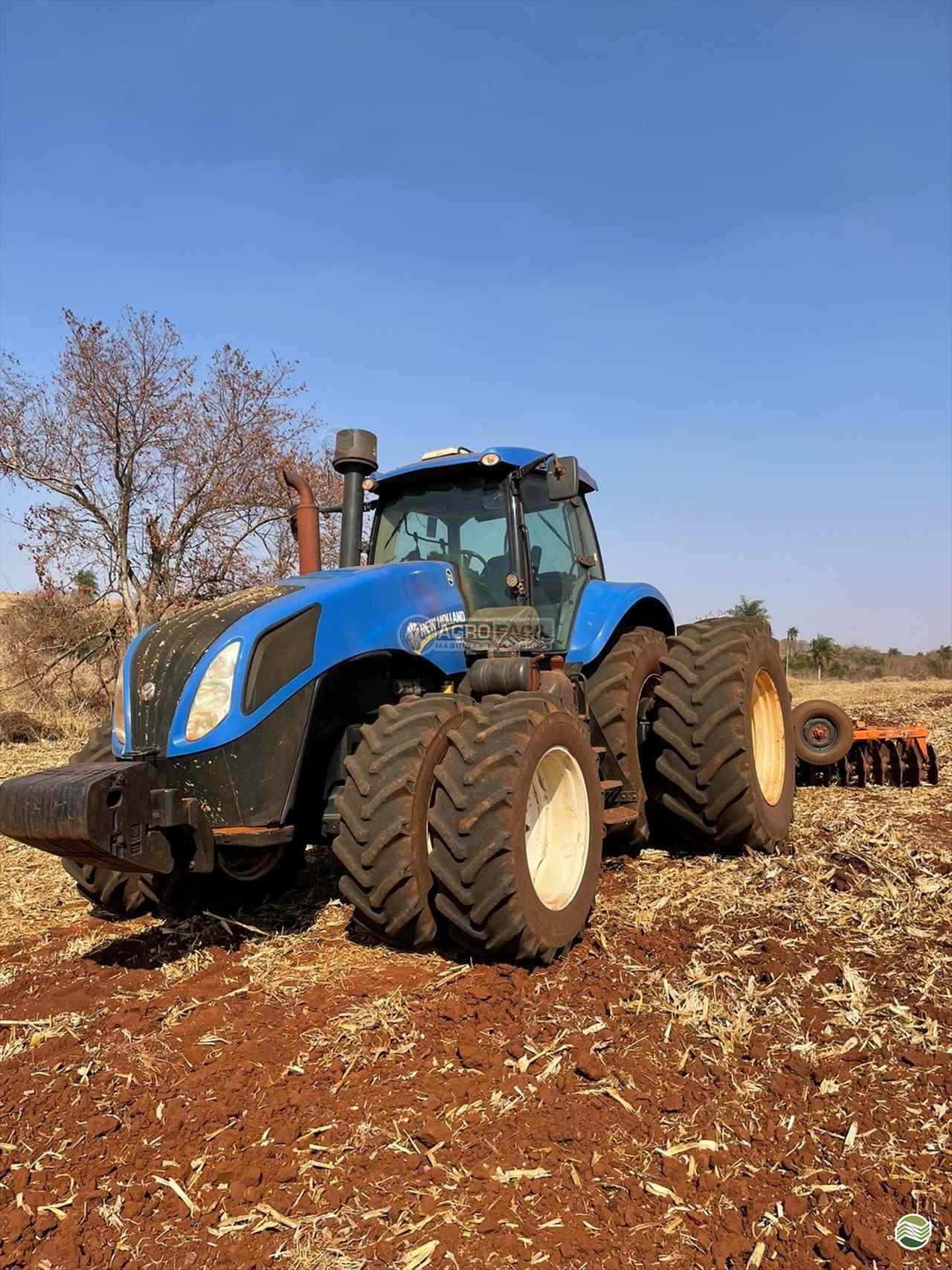 TRATOR NEW HOLLAND NEW T8 385 Tração 4x4 Agro Fácil Máquinas PRIMAVERA DO LESTE MATO GROSSO MT