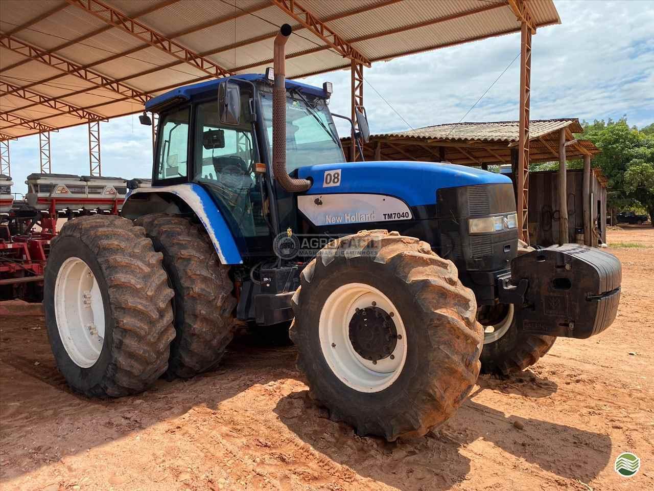 TRATOR NEW HOLLAND NEW TM 7040 Tração 4x4 Agro Fácil Máquinas PRIMAVERA DO LESTE MATO GROSSO MT
