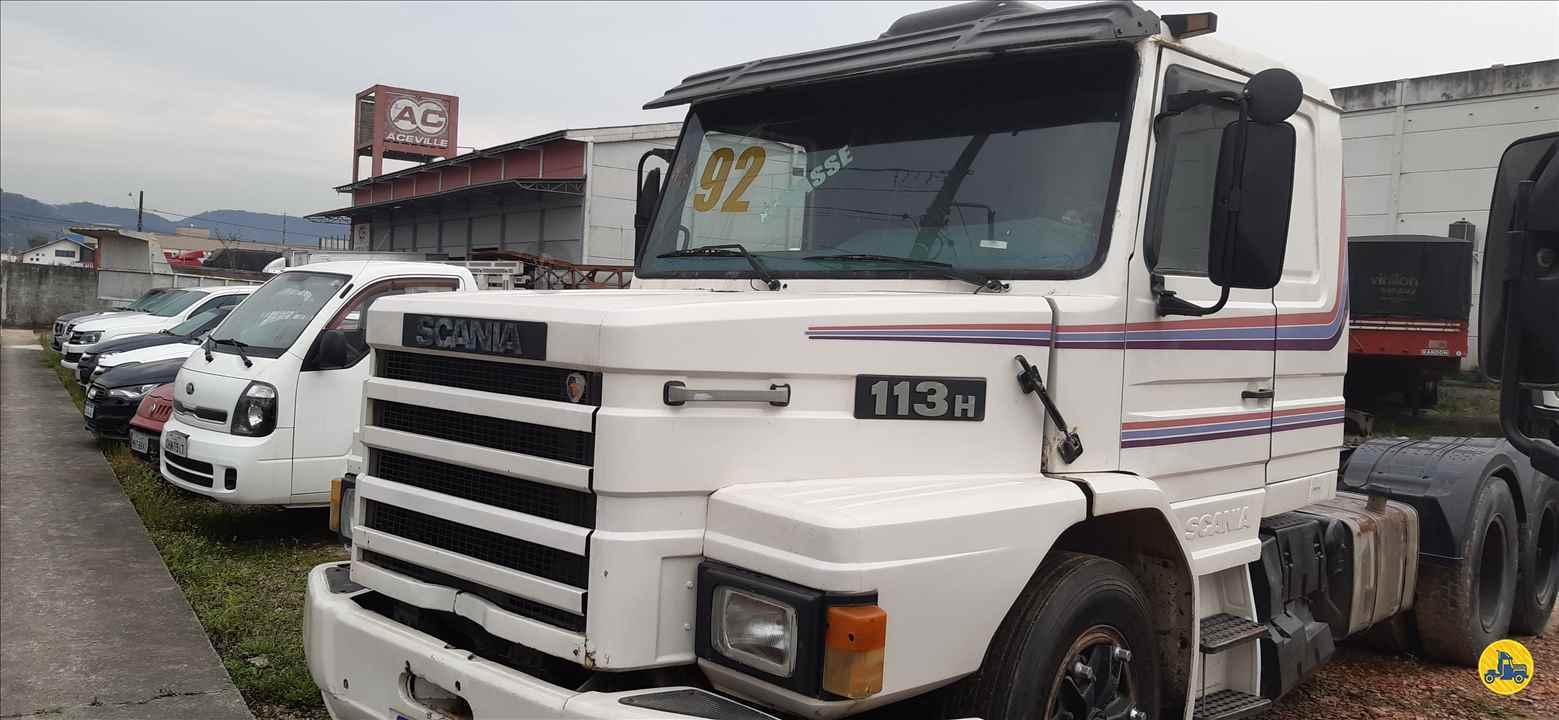 CAMINHAO SCANIA SCANIA 113 320 Cavalo Mecânico Truck 6x2 Sandro Caminhões 282 PALHOCA SANTA CATARINA SC