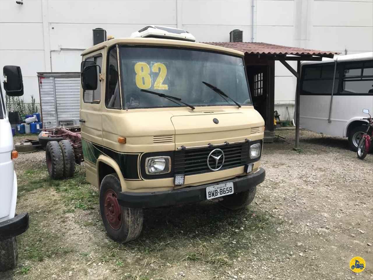 CAMINHAO MERCEDES-BENZ MB 608 Chassis 3/4 4x2 Sandro Caminhões 282 PALHOCA SANTA CATARINA SC