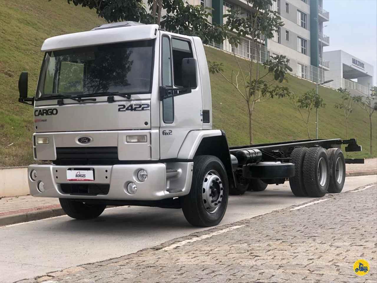 CAMINHAO FORD CARGO 2422 Chassis Traçado 6x4 Borges Caminhões CACHOEIRO DE ITAPEMIRIM ESPÍRITO SANTO ES
