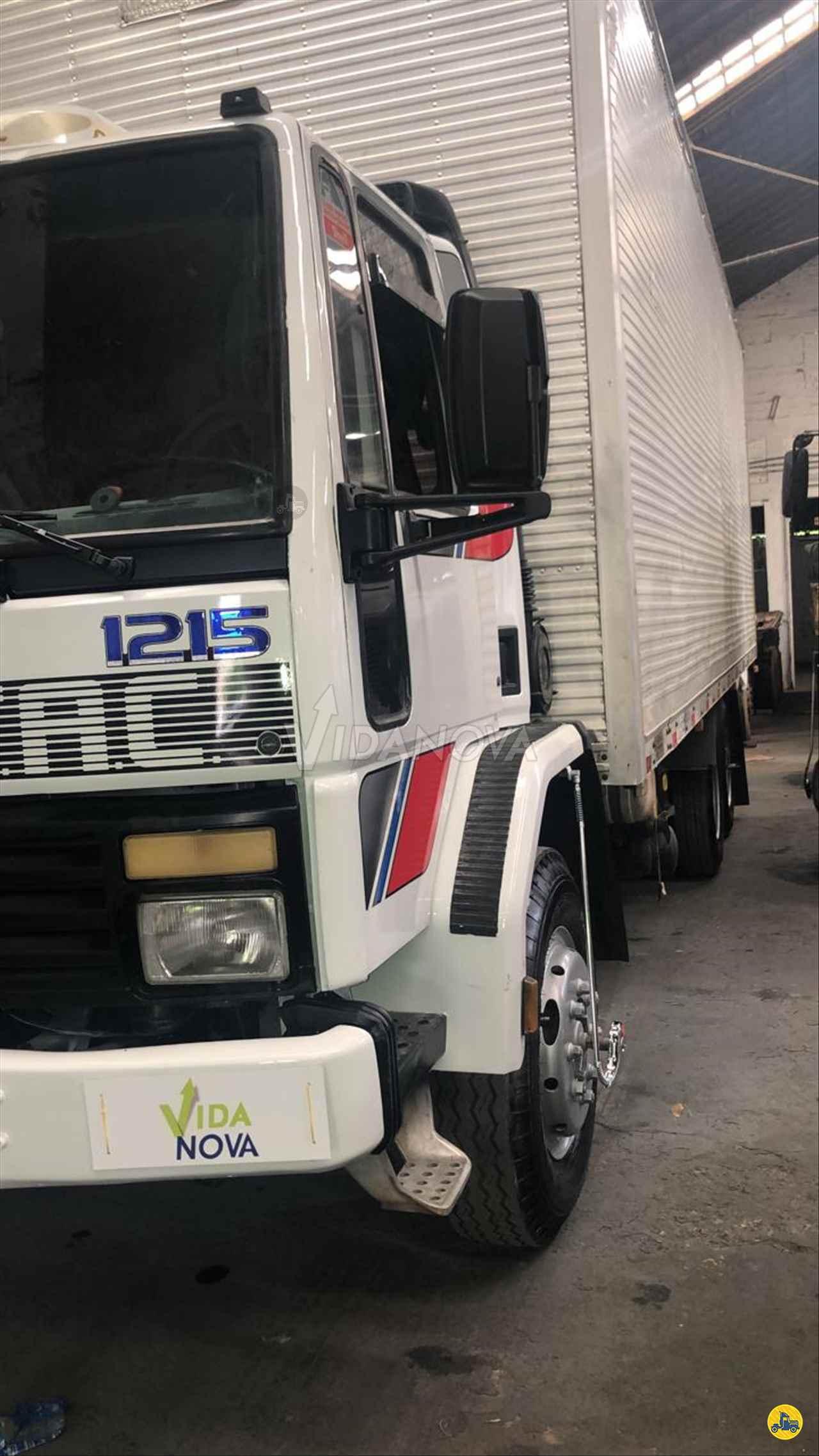CAMINHAO FORD CARGO 1215 Baú Furgão Truck 6x2 Vida Nova Caminhões JUNDIAI SÃO PAULO SP