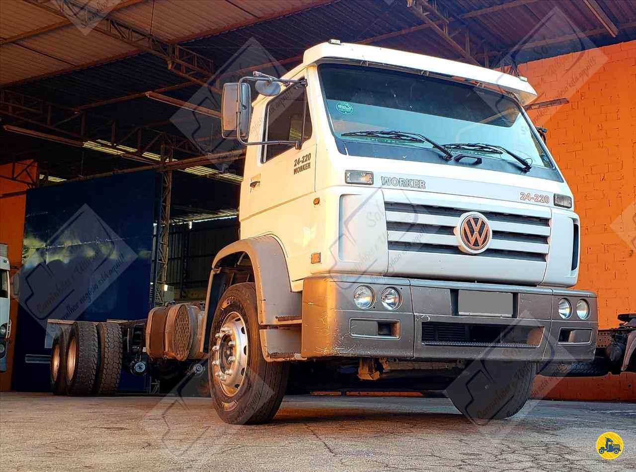 CAMINHAO VOLKSWAGEN VW 24220 Chassis Truck 6x2 Sol Caminhões e Utilitários SAO PAULO SÃO PAULO SP