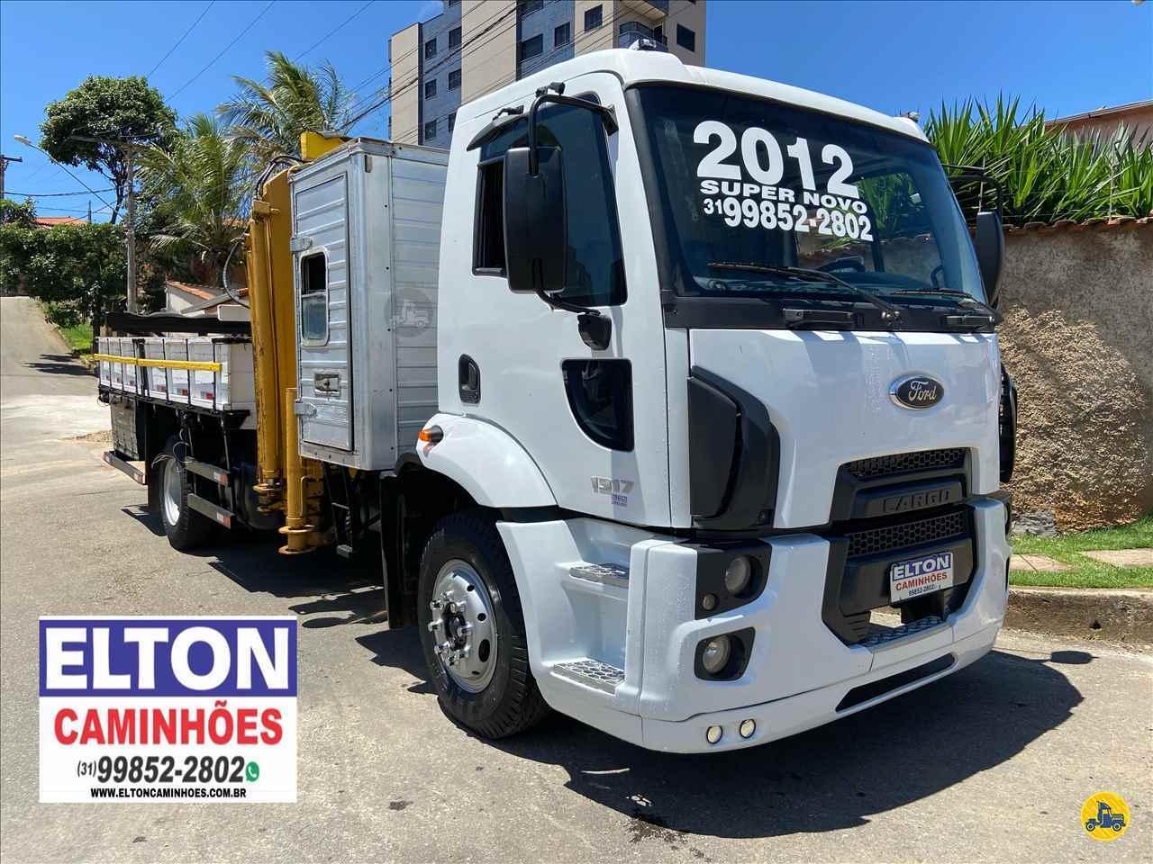 FORD CARGO 1317  2011/2012 Elton Caminhões