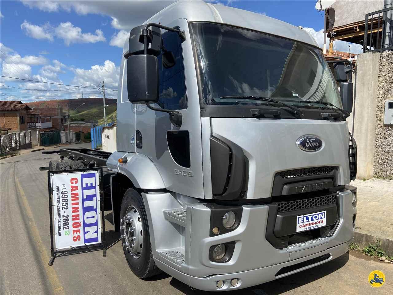CAMINHAO FORD CARGO 2429 Chassis Truck 6x2 Elton Caminhões JOAO MONLEVADE MINAS GERAIS MG