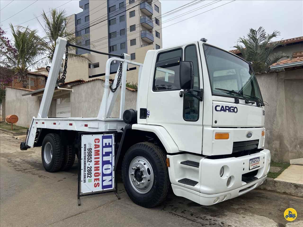 CAMINHAO FORD CARGO 1317 Poliguindaste Toco 4x2 Elton Caminhões JOAO MONLEVADE MINAS GERAIS MG