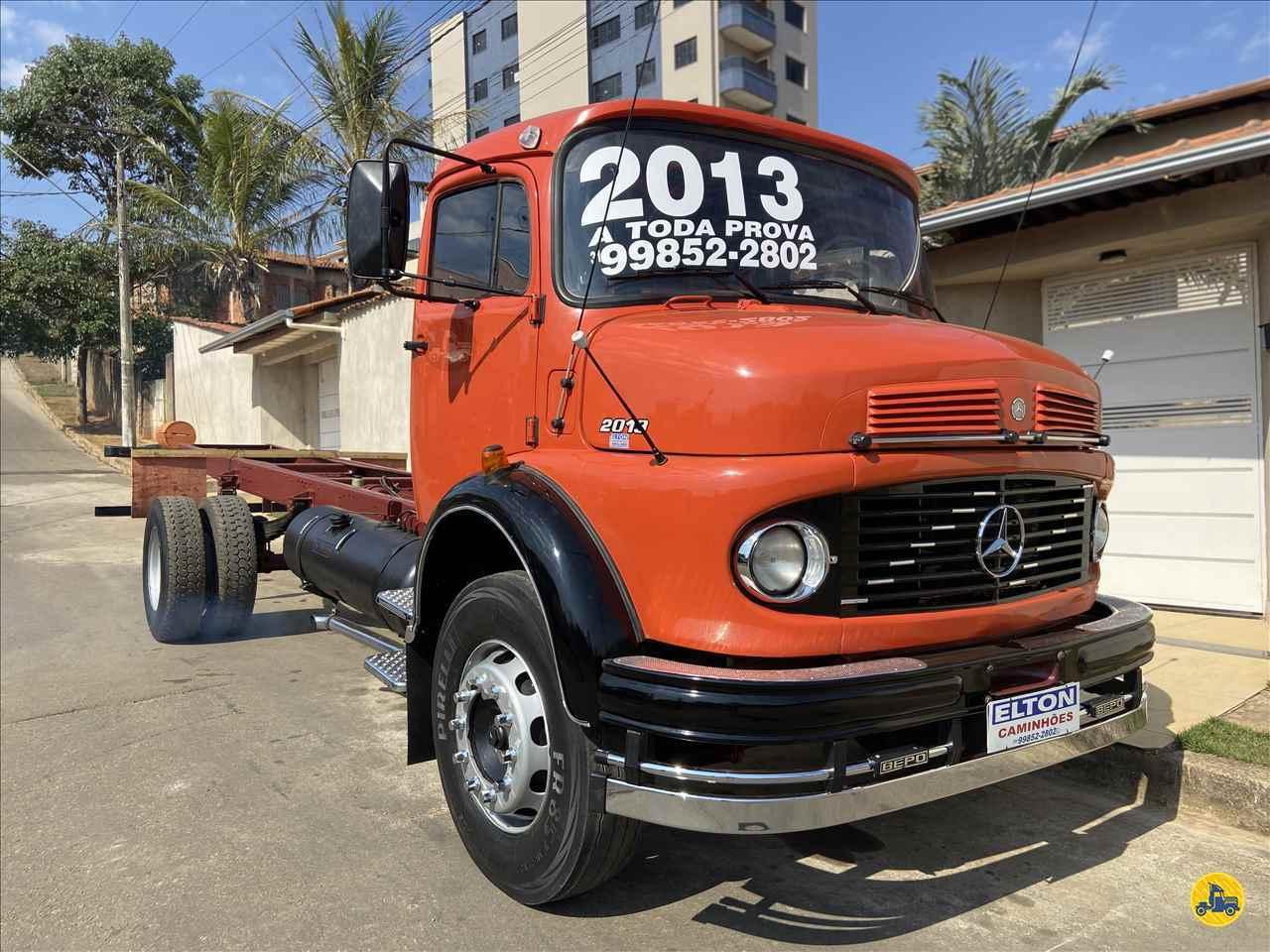 CAMINHAO MERCEDES-BENZ MB 2013 Chassis Toco 4x2 Elton Caminhões JOAO MONLEVADE MINAS GERAIS MG