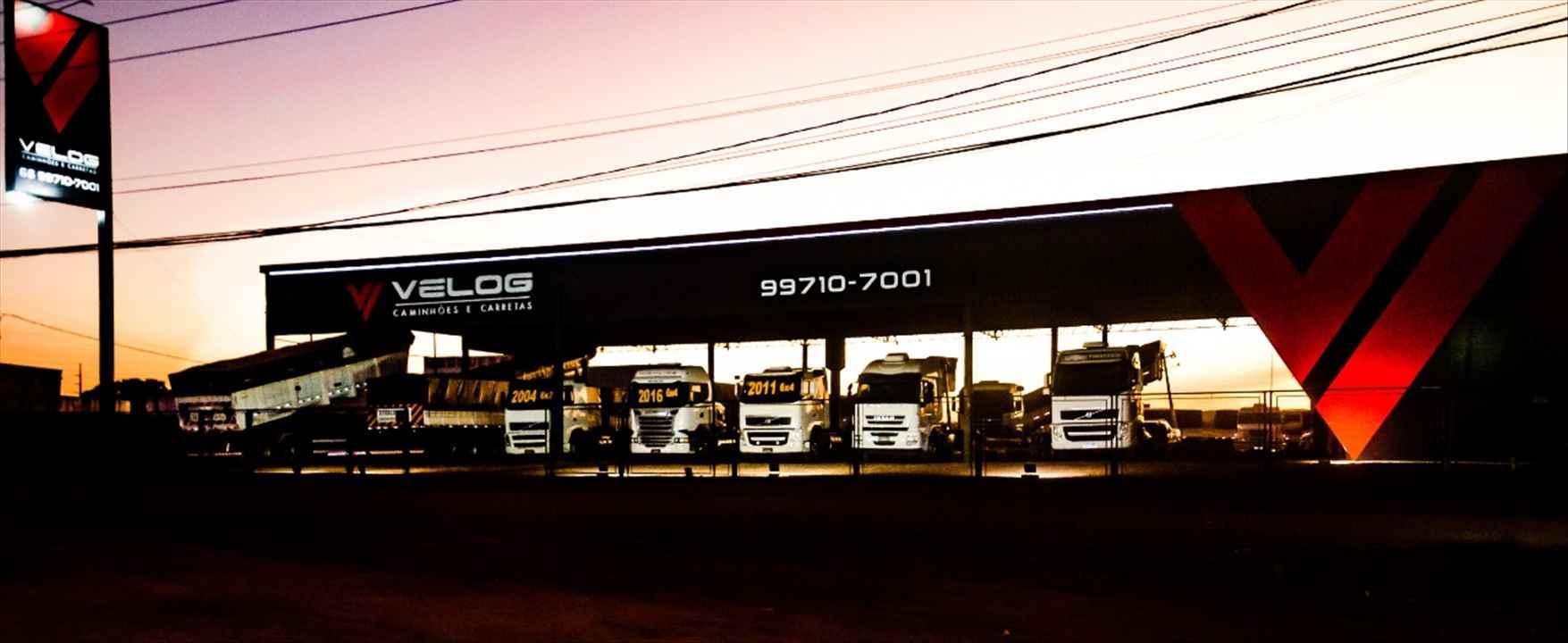 Foto da Loja da Velog  Caminhões e Carretas