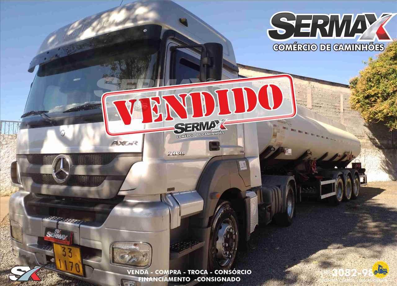 CAMINHAO MERCEDES-BENZ MB 2036 Tanque Aço Toco 4x2 Sermax Caminhões MONTES CLAROS MINAS GERAIS MG