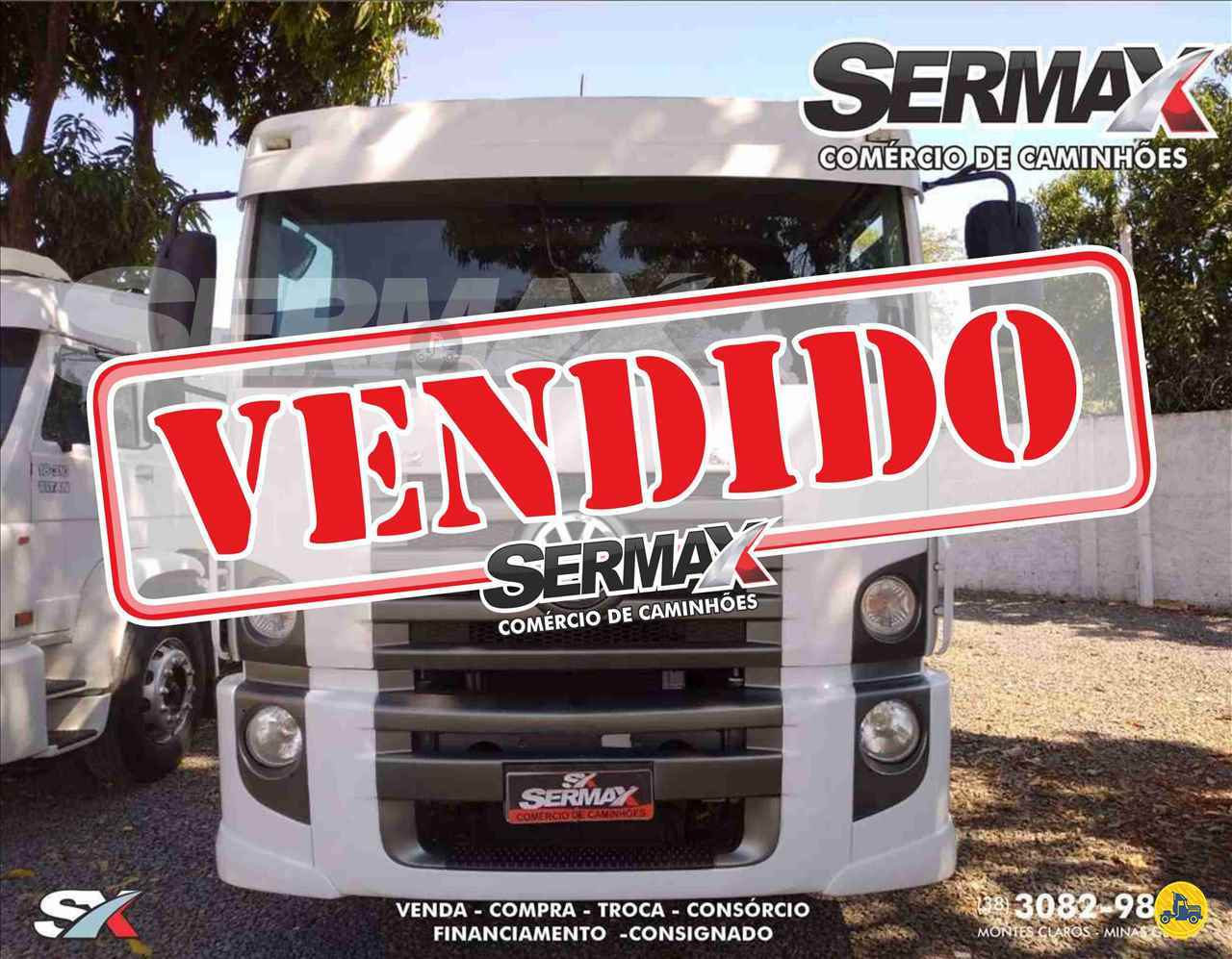 CAMINHAO VOLKSWAGEN VW 24280 Chassis Truck 6x2 Sermax Caminhões MONTES CLAROS MINAS GERAIS MG