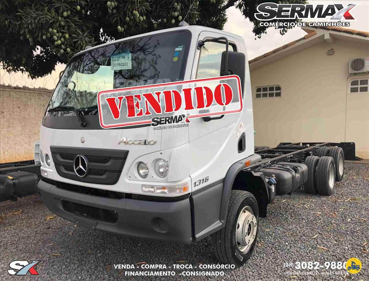 CAMINHAO MERCEDES-BENZ MB 1316 Chassis Truck 6x2 Sermax Caminhões MONTES CLAROS MINAS GERAIS MG