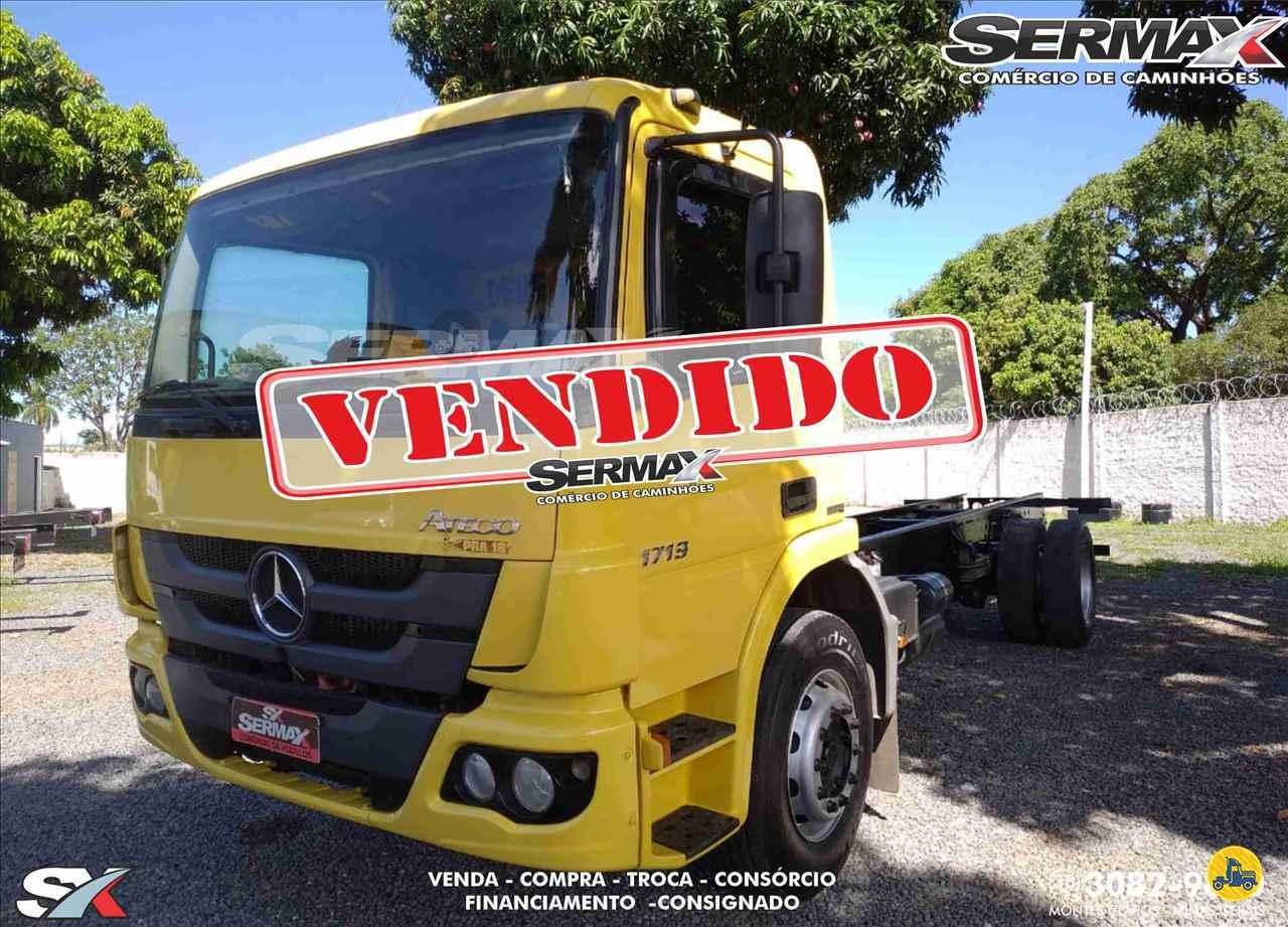 CAMINHAO MERCEDES-BENZ MB 1719 Chassis Toco 4x2 Sermax Caminhões MONTES CLAROS MINAS GERAIS MG