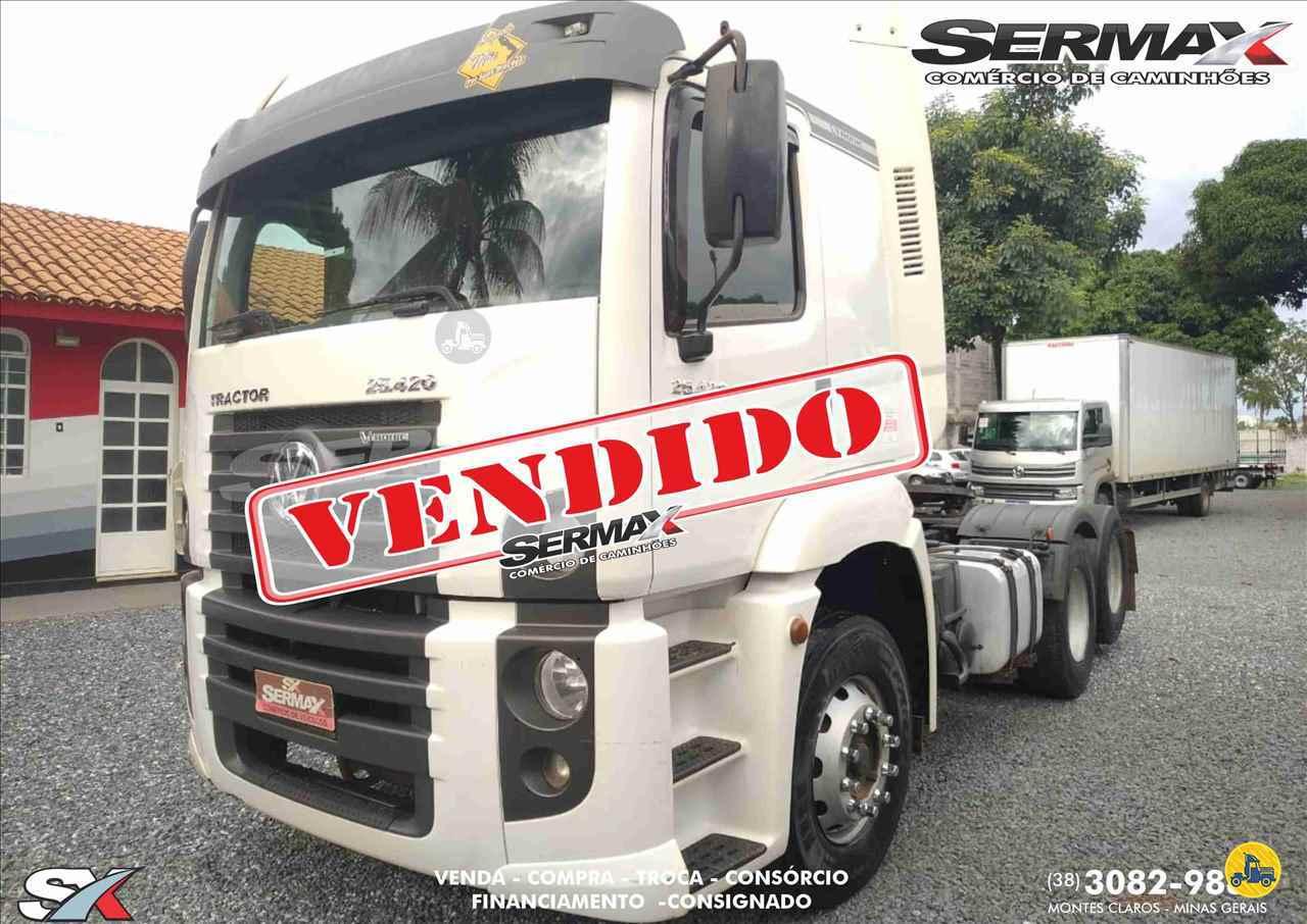 CAMINHAO VOLKSWAGEN VW 25420 Cavalo Mecânico Truck 6x2 Sermax Caminhões MONTES CLAROS MINAS GERAIS MG