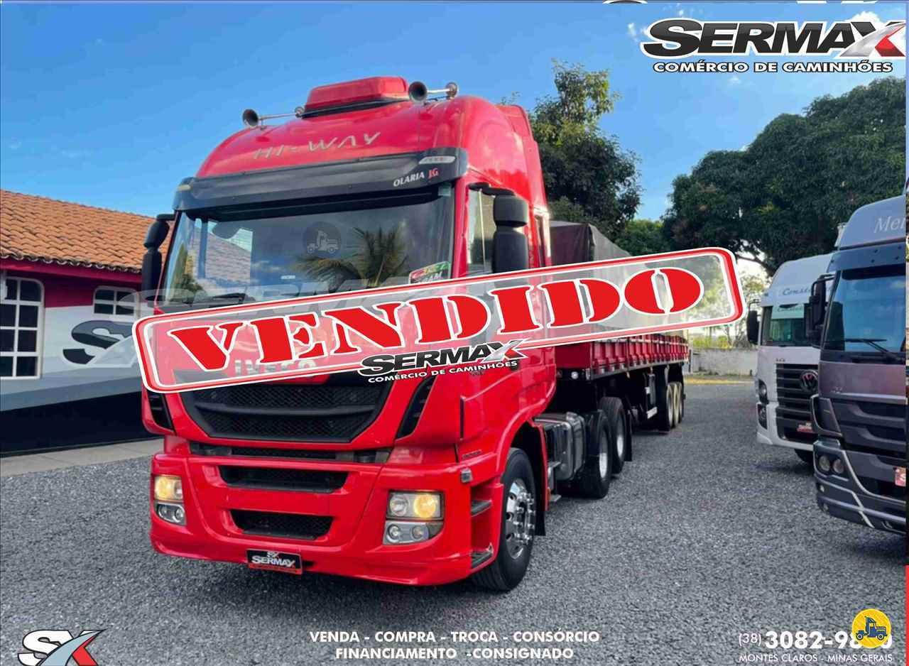CAMINHAO IVECO STRALIS 440 Graneleiro Truck 6x2 Sermax Caminhões MONTES CLAROS MINAS GERAIS MG