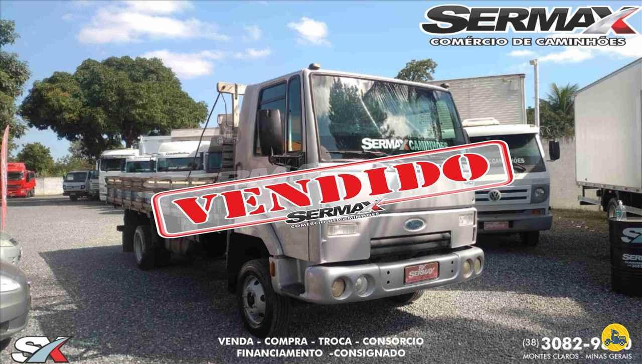 CAMINHAO FORD CARGO 815 Carga Seca Toco 4x2 Sermax Caminhões MONTES CLAROS MINAS GERAIS MG