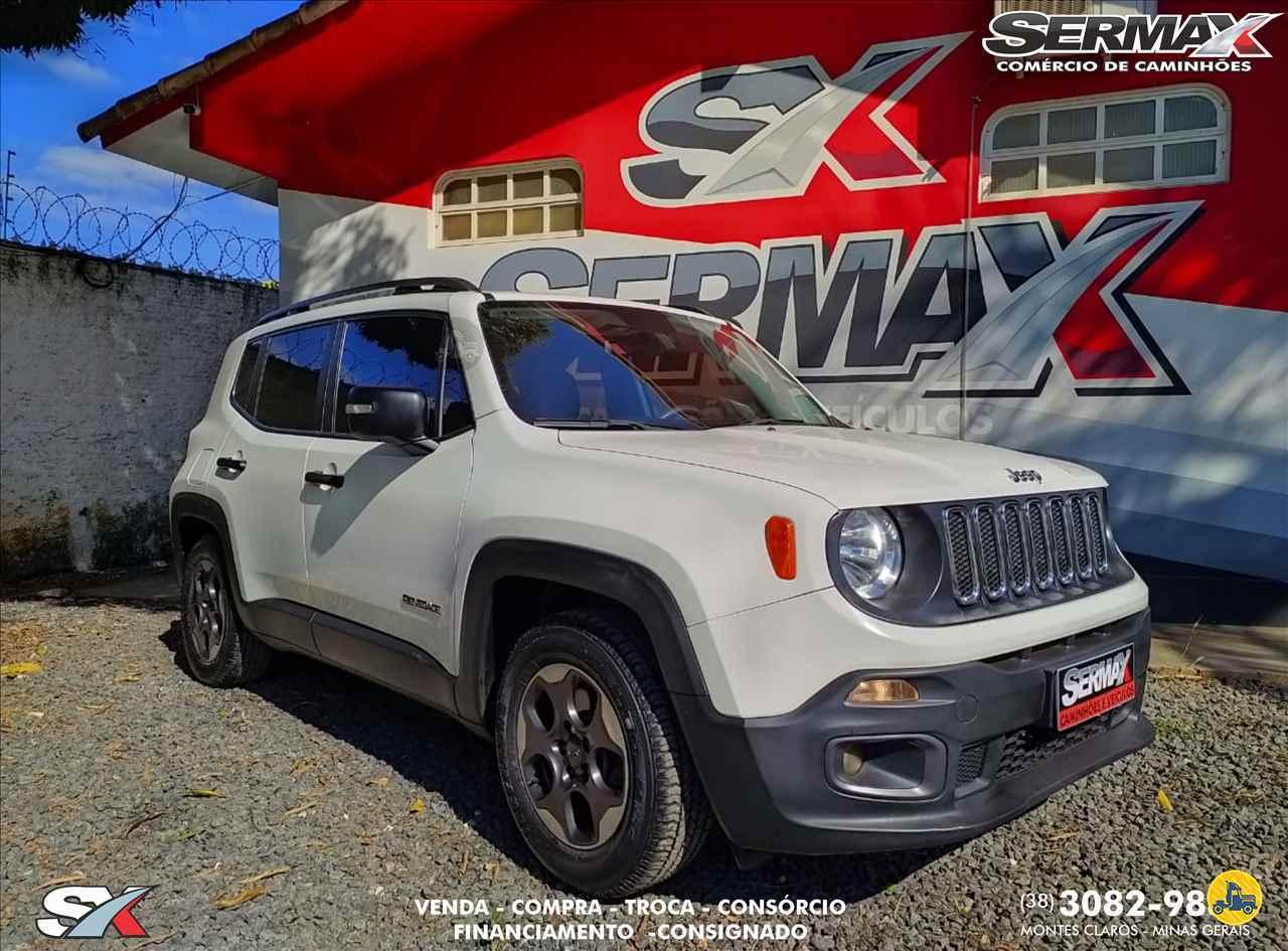 CARRO JEEP Renegade 1.8 Sport Sermax Caminhões MONTES CLAROS MINAS GERAIS MG