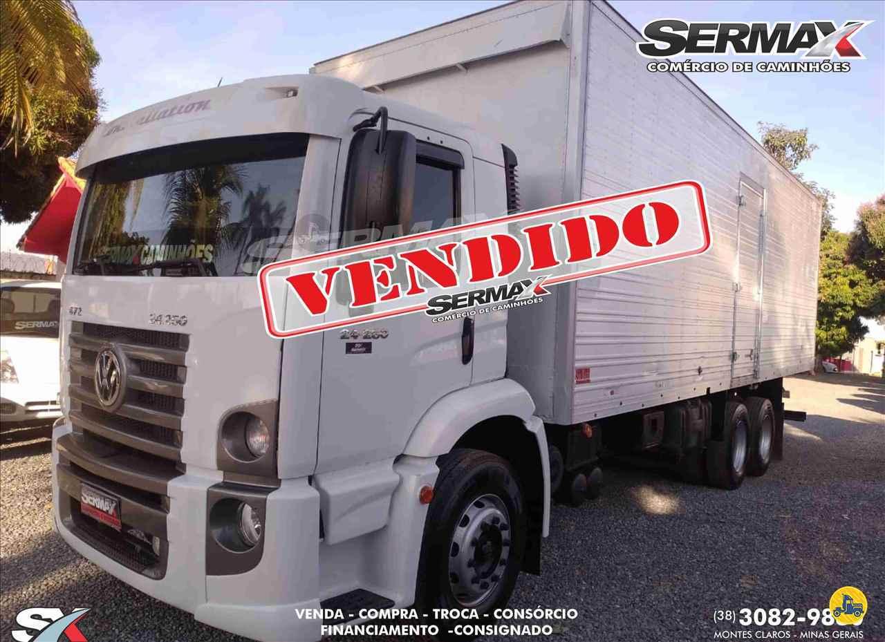CAMINHAO VOLKSWAGEN VW 24250 Baú Furgão Truck 6x2 Sermax Caminhões MONTES CLAROS MINAS GERAIS MG
