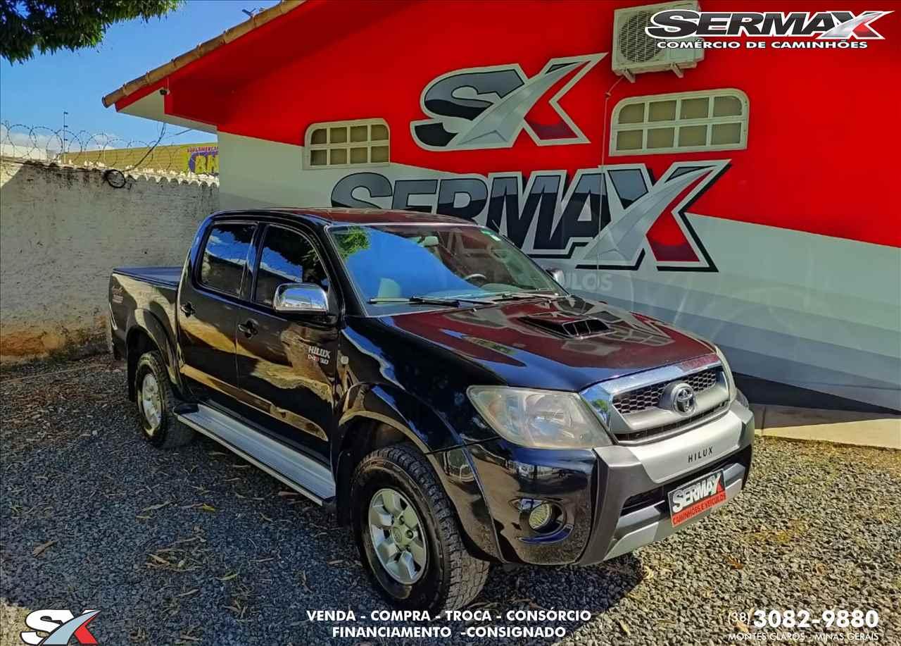 CARRO TOYOTA Hilux 3.0 SRV Sermax Caminhões MONTES CLAROS MINAS GERAIS MG