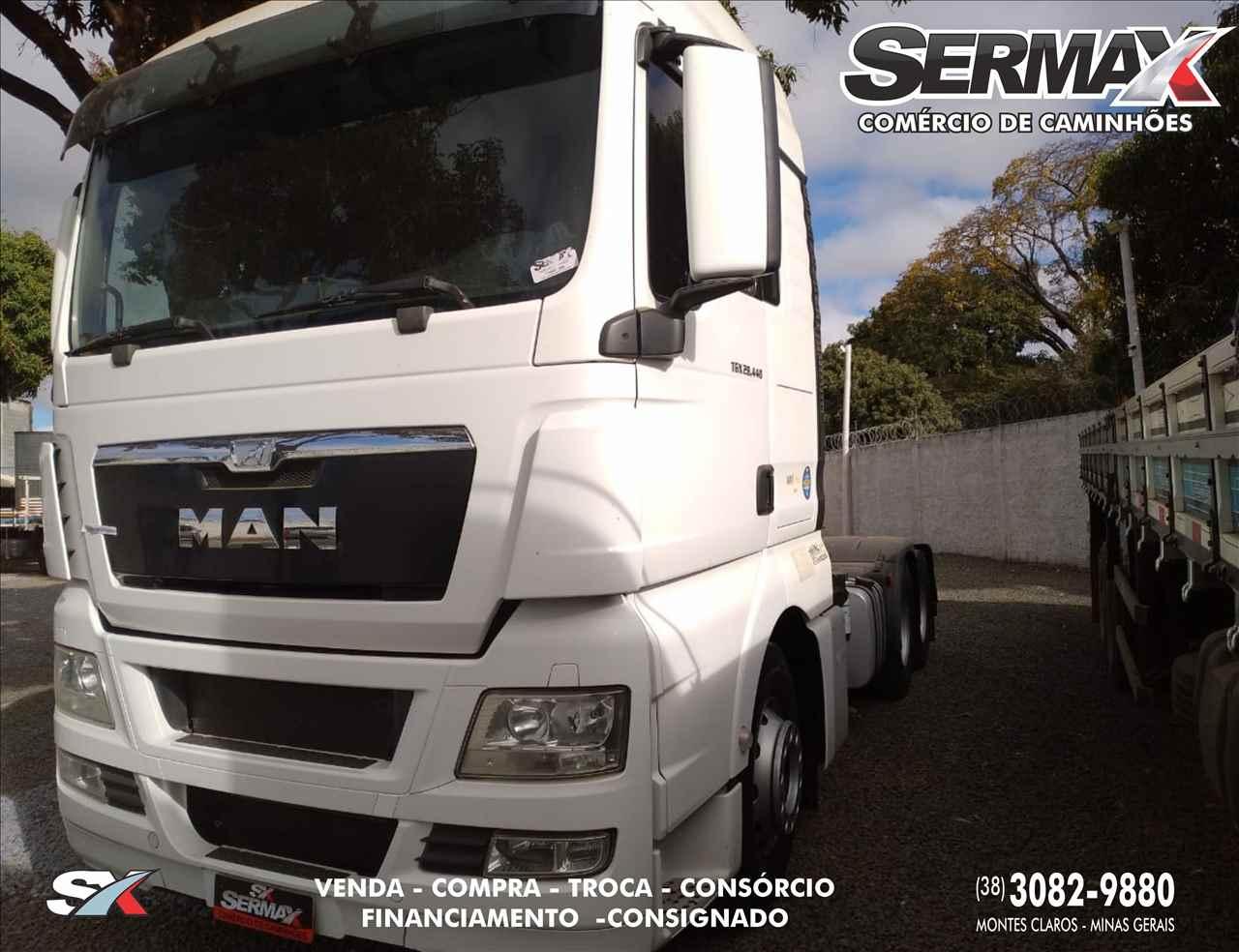 CAMINHAO MAN TGX 28 440 Cavalo Mecânico Truck 6x2 Sermax Caminhões MONTES CLAROS MINAS GERAIS MG