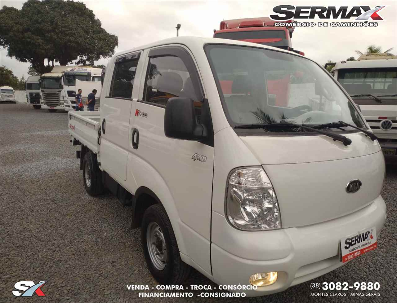 UTILITARIOS KIA MOTORS Bongo K-2700 CD Sermax Caminhões MONTES CLAROS MINAS GERAIS MG