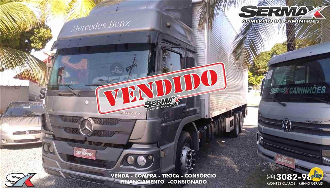 CAMINHAO MERCEDES-BENZ MB 2430 Baú Furgão Truck 6x2 Sermax Caminhões MONTES CLAROS MINAS GERAIS MG