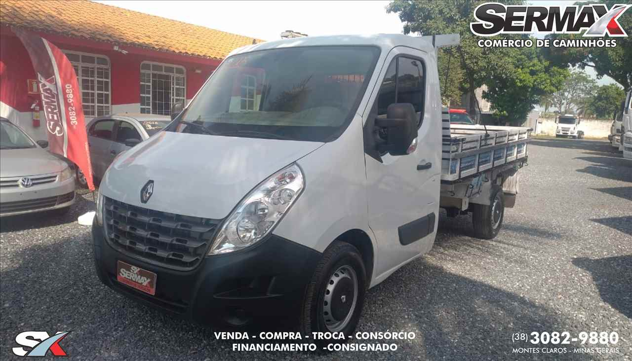 UTILITARIOS RENAULT Master Chassi Cabine 2.3 Sermax Caminhões MONTES CLAROS MINAS GERAIS MG
