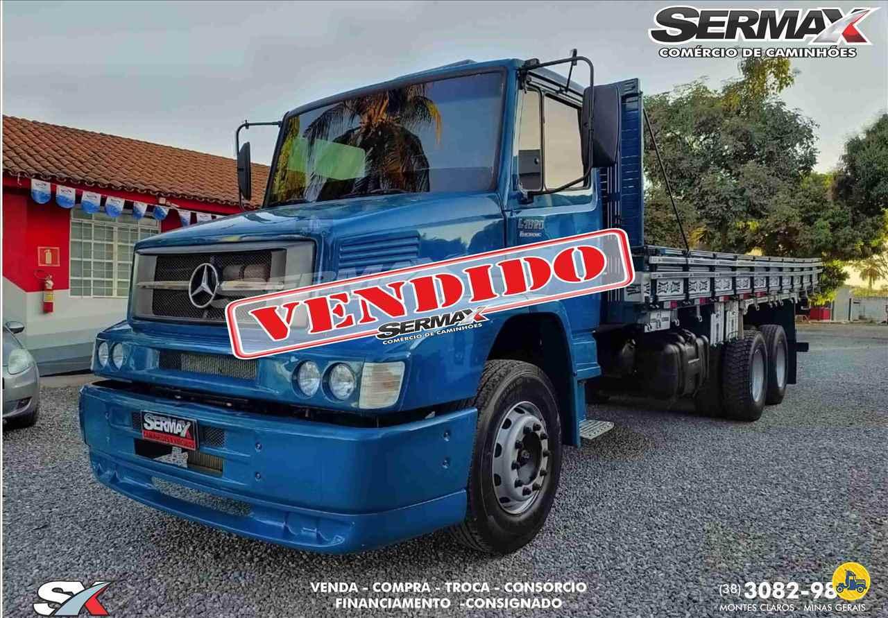 CAMINHAO MERCEDES-BENZ MB 1620 Carga Seca Truck 6x2 Sermax Caminhões MONTES CLAROS MINAS GERAIS MG