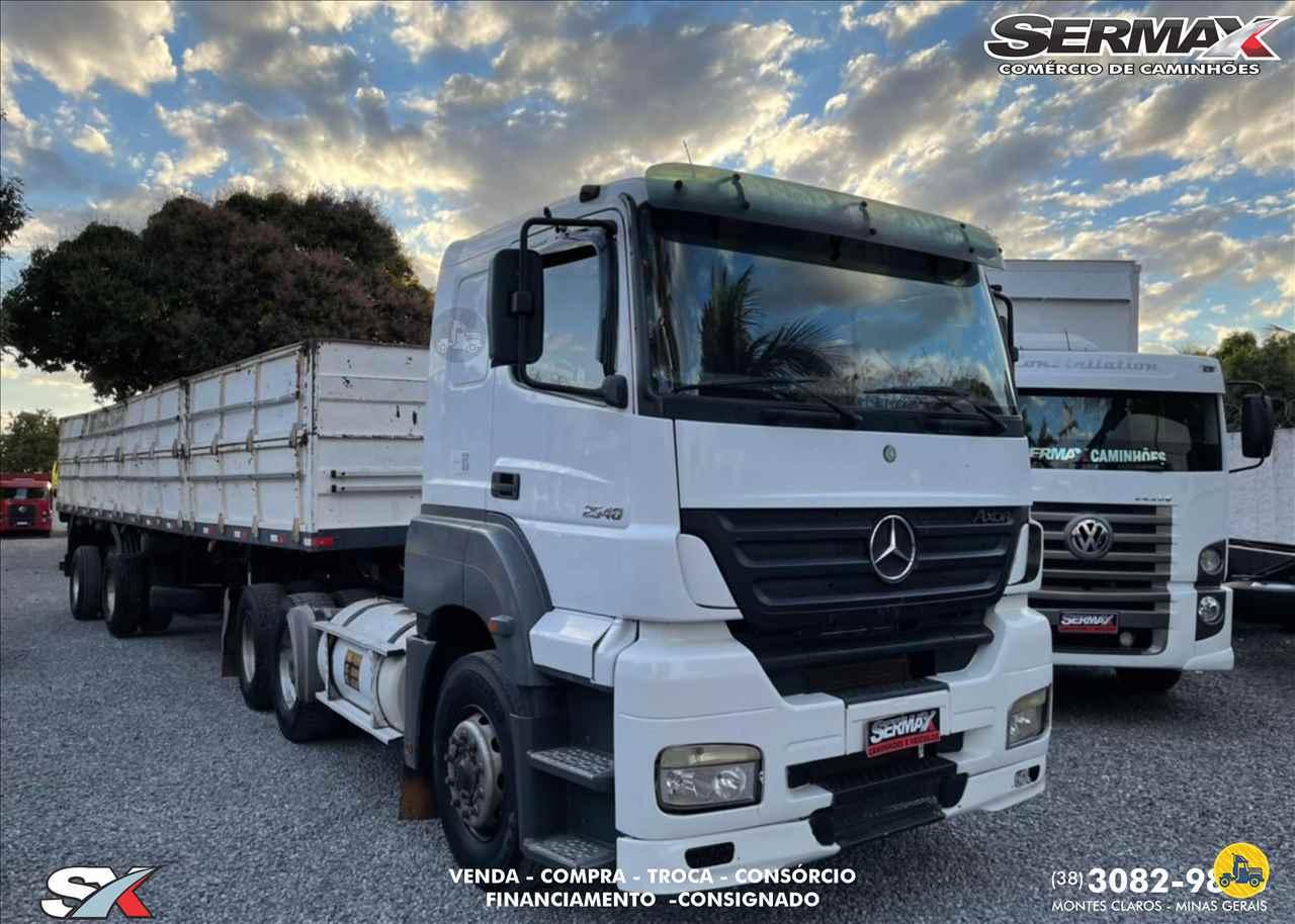 CAMINHAO MERCEDES-BENZ MB 2540 Graneleiro Truck 6x2 Sermax Caminhões MONTES CLAROS MINAS GERAIS MG