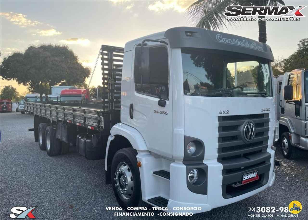 CAMINHAO VOLKSWAGEN VW 24250 Carga Seca Truck 6x2 Sermax Caminhões MONTES CLAROS MINAS GERAIS MG