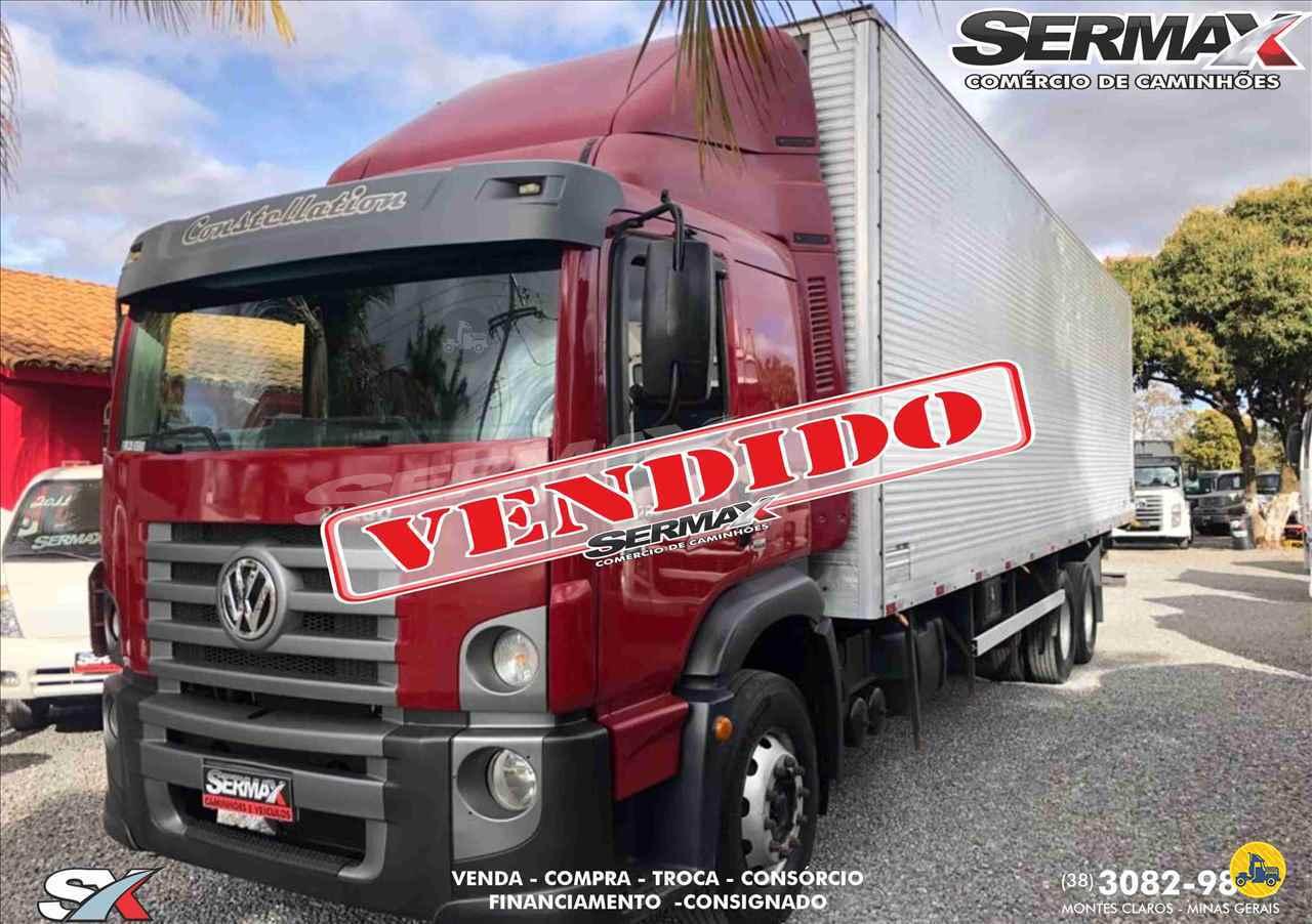 CAMINHAO VOLKSWAGEN VW 24280 Baú Furgão Truck 6x2 Sermax Caminhões MONTES CLAROS MINAS GERAIS MG