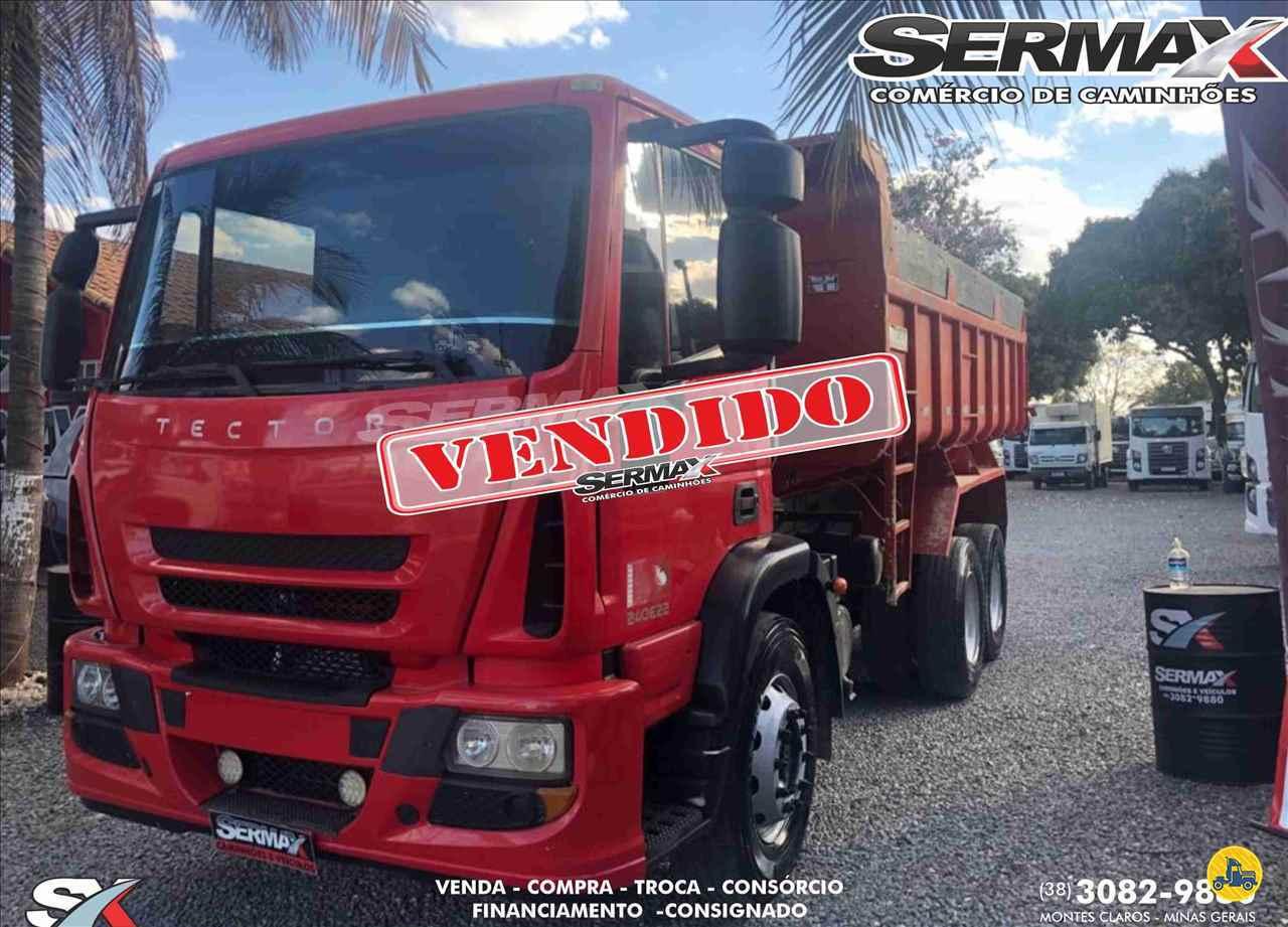 CAMINHAO IVECO TECTOR 240E22 Caçamba Basculante Truck 6x2 Sermax Caminhões MONTES CLAROS MINAS GERAIS MG
