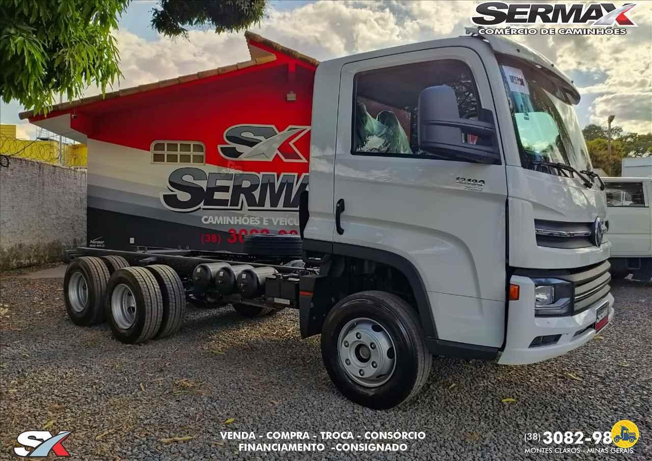 CAMINHAO VOLKSWAGEN VW 13180 Chassis Truck 6x2 Sermax Caminhões MONTES CLAROS MINAS GERAIS MG