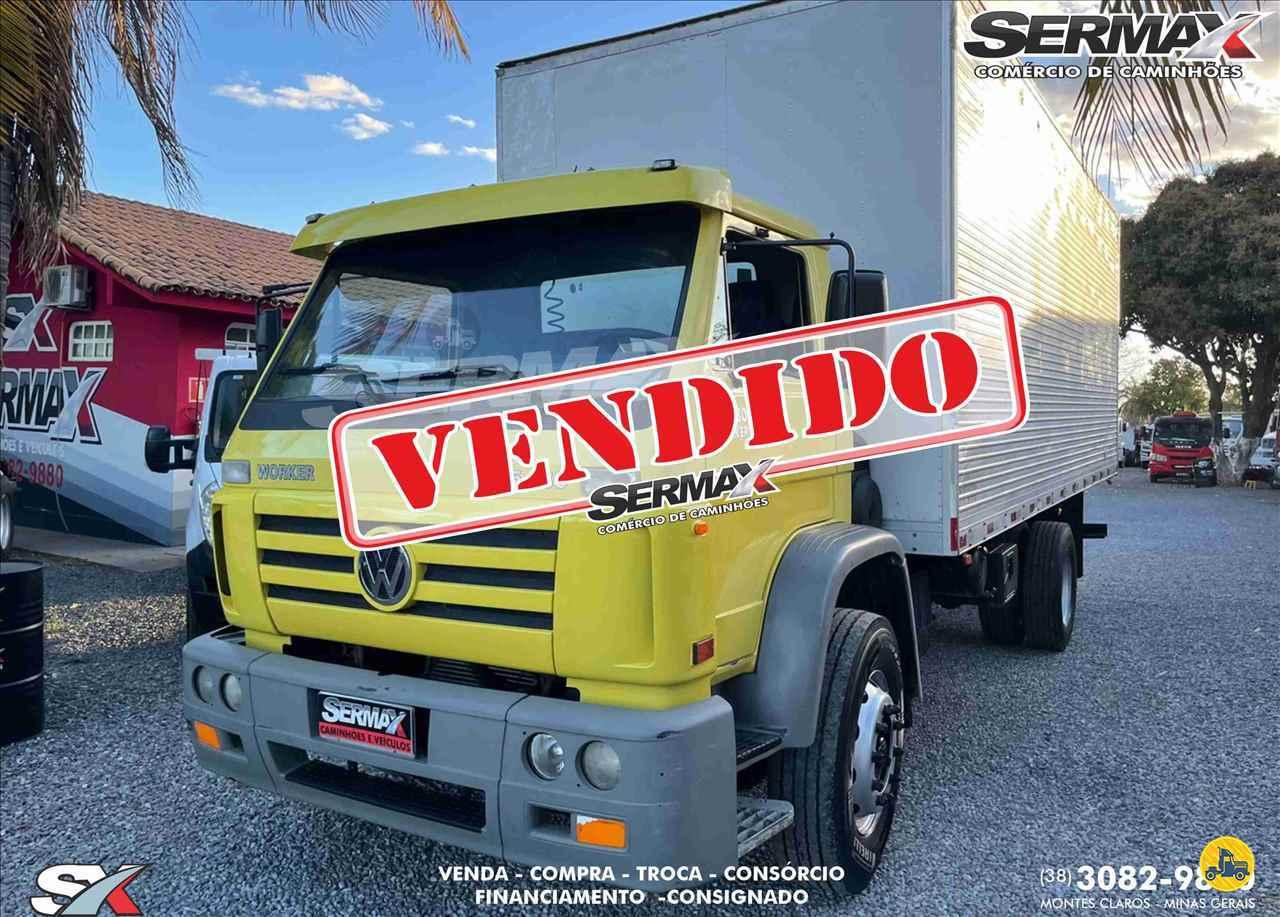 CAMINHAO VOLKSWAGEN VW 15180 Baú Furgão Toco 4x2 Sermax Caminhões MONTES CLAROS MINAS GERAIS MG