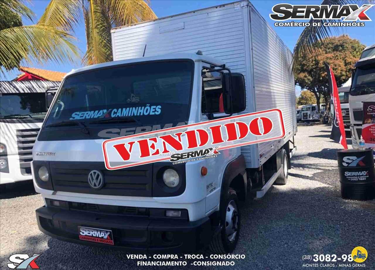 CAMINHAO VOLKSWAGEN VW 8160 Baú Furgão 3/4 4x2 Sermax Caminhões MONTES CLAROS MINAS GERAIS MG