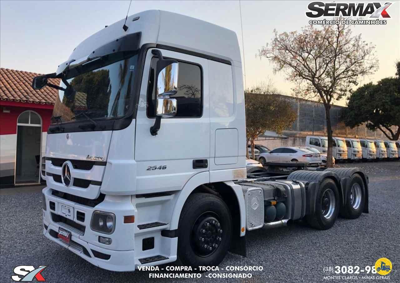 CAMINHAO MERCEDES-BENZ MB 2546 Cavalo Mecânico Truck 6x2 Sermax Caminhões MONTES CLAROS MINAS GERAIS MG
