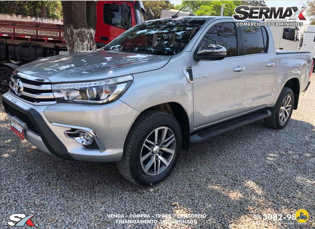 CARRO TOYOTA Hilux 2.8 SRX Sermax Caminhões MONTES CLAROS MINAS GERAIS MG