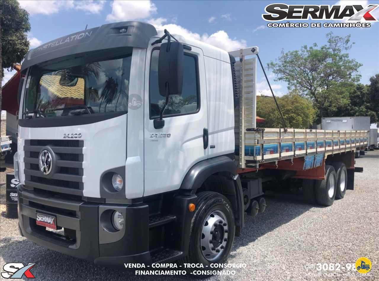 CAMINHAO VOLKSWAGEN VW 24280 Carga Seca Truck 6x2 Sermax Caminhões MONTES CLAROS MINAS GERAIS MG