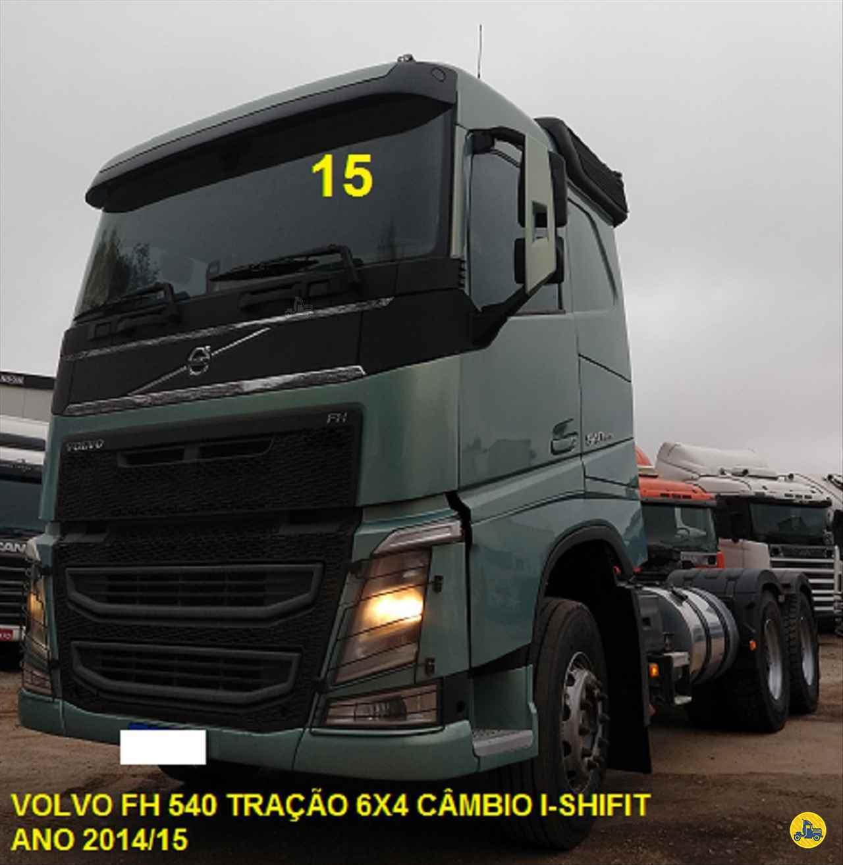CAMINHAO VOLVO VOLVO FH 540 Cavalo Mecânico Traçado 6x4 LAF Caminhões CURITIBA PARANÁ PR