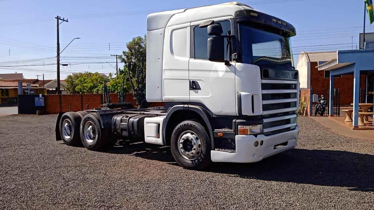 CAMINHAO SCANIA SCANIA 124 360 Cavalo Mecânico Truck 6x2 Mundial Caminhões e Carretas PALMITAL SÃO PAULO SP