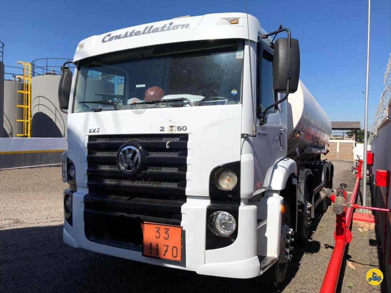 CAMINHAO VOLKSWAGEN VW 24250 Tanque Aço BiTruck 8x2 Mundial Caminhões e Carretas PALMITAL SÃO PAULO SP