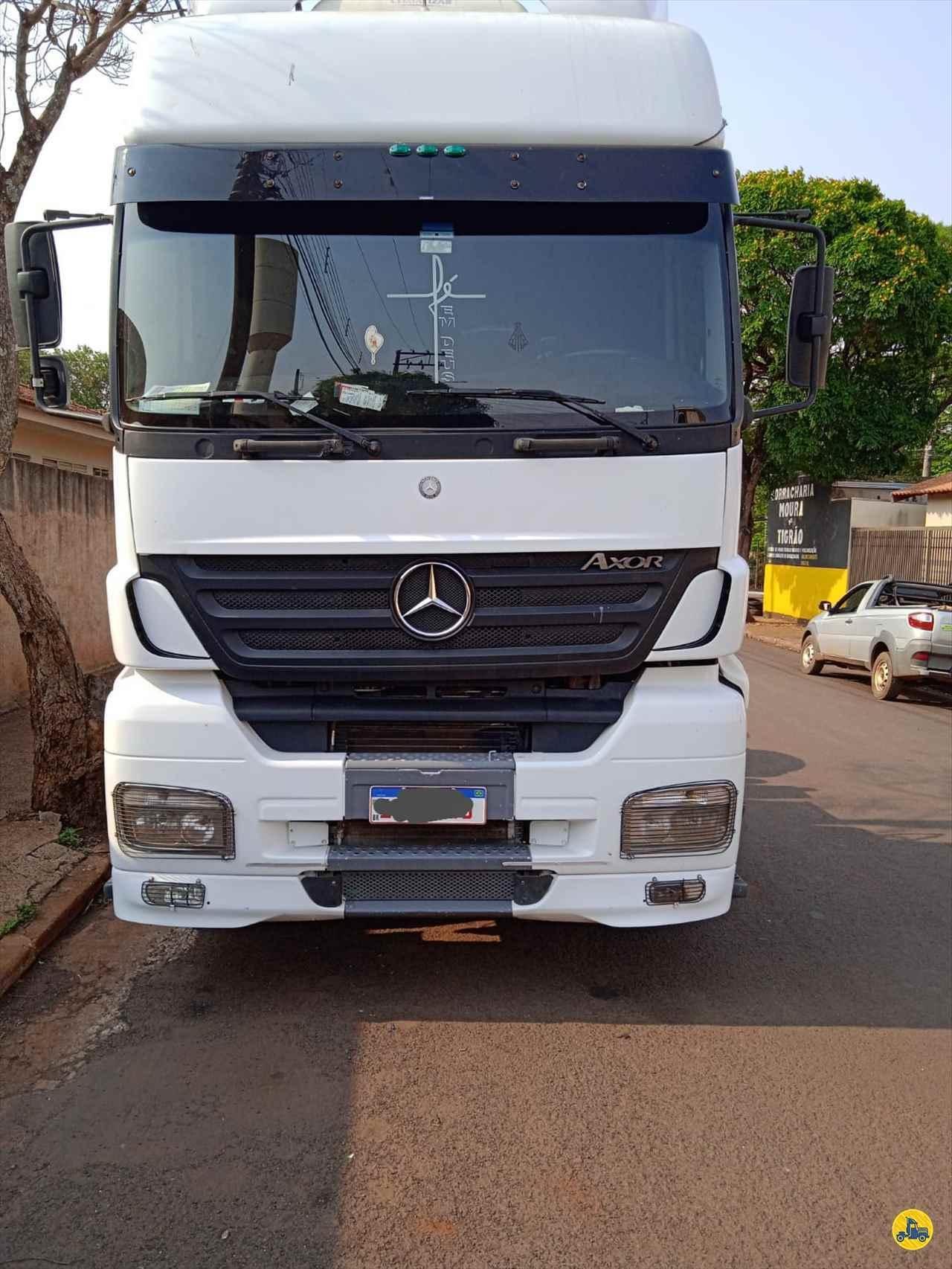 CAMINHAO MERCEDES-BENZ MB 2040 Cavalo Mecânico Truck 6x2 Mundial Caminhões e Carretas PALMITAL SÃO PAULO SP