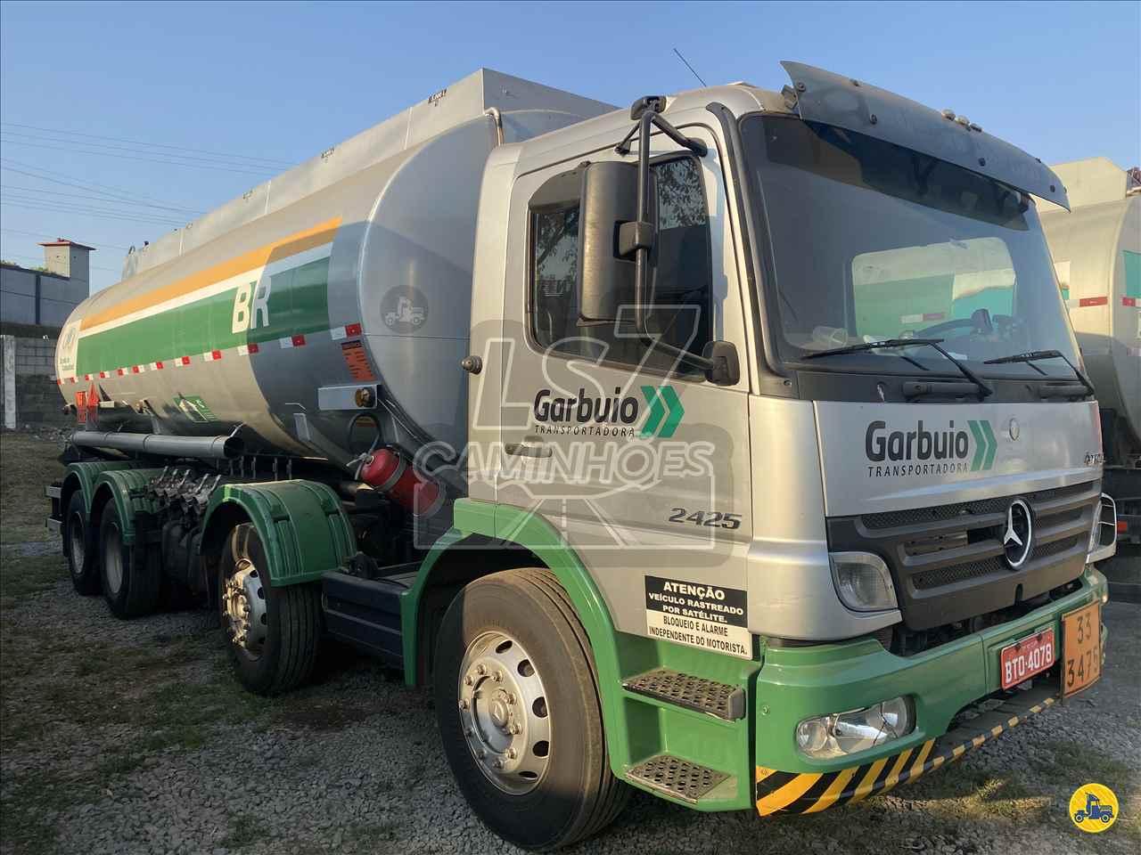 CAMINHAO MERCEDES-BENZ MB 2425 Tanque Aço BiTruck 8x2 LS 7 Caminhões LIMEIRA SÃO PAULO SP
