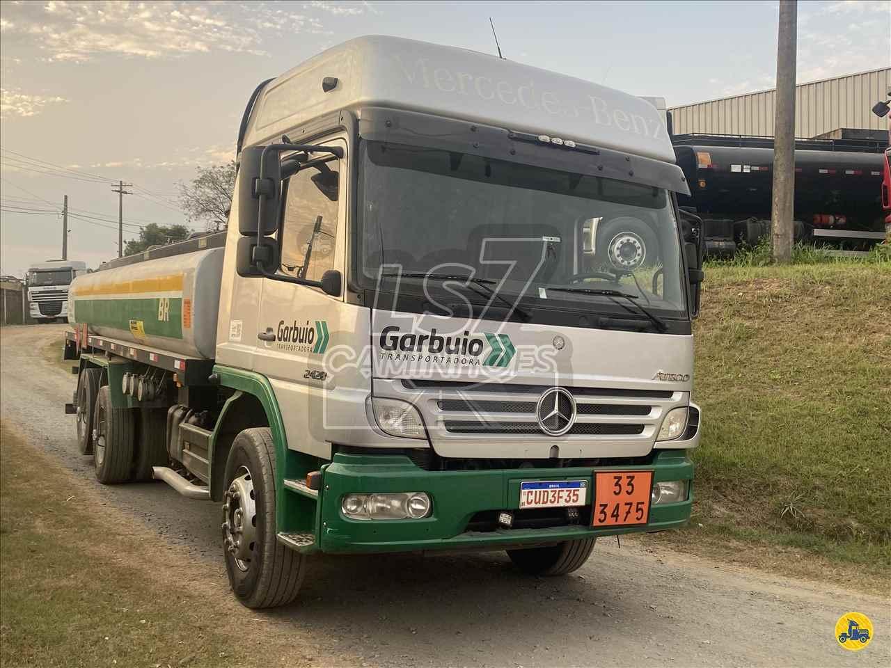 CAMINHAO MERCEDES-BENZ MB 2428 Tanque Aço Truck 6x2 LS 7 Caminhões LIMEIRA SÃO PAULO SP