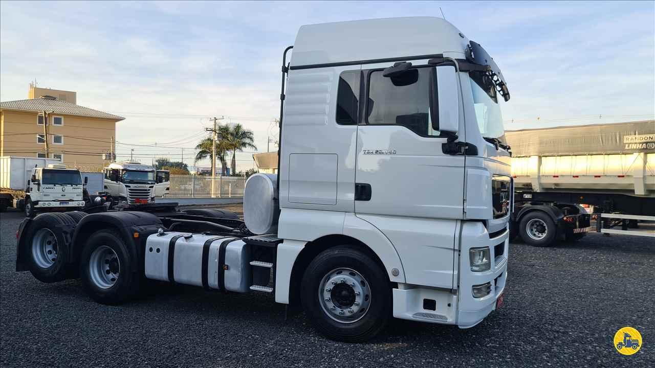 CAMINHAO MAN TGX 28 440 Cavalo Mecânico Truck 6x2 Santa Edwiges Caminhões APARECIDA DE GOIANIA GOIAS GO