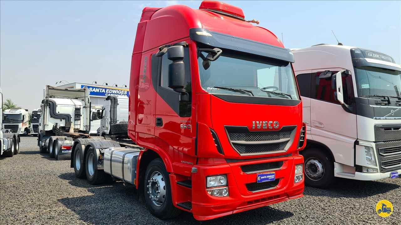 CAMINHAO IVECO STRALIS 560 Cavalo Mecânico Truck 6x2 Santa Edwiges Caminhões APARECIDA DE GOIANIA GOIAS GO