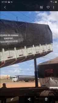 SEMI-REBOQUE BASCULANTE  1995/1995 Brasil Caminhões Sinop