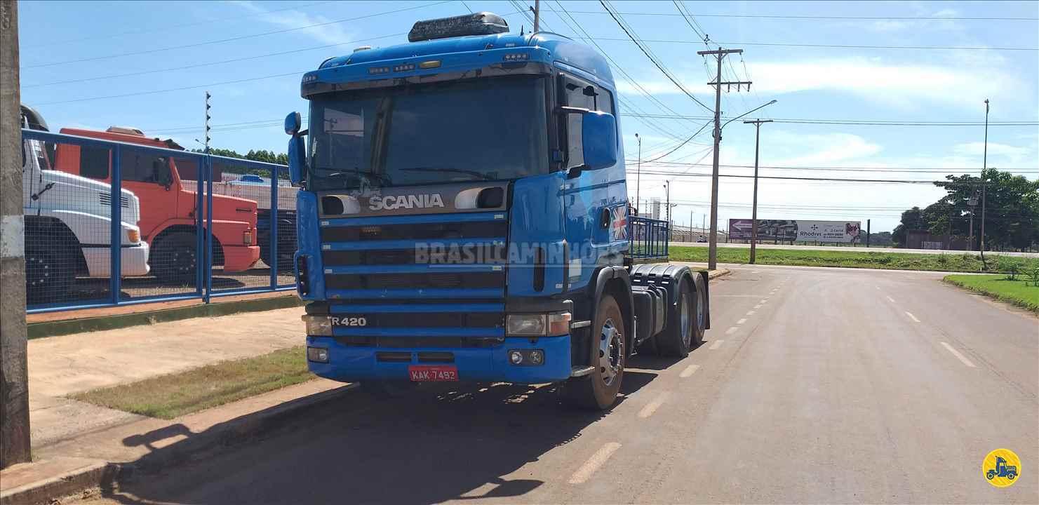 CAMINHAO SCANIA SCANIA 420 Cavalo Mecânico Truck 6x2 Brasil Caminhões Sinop SINOP MATO GROSSO MT