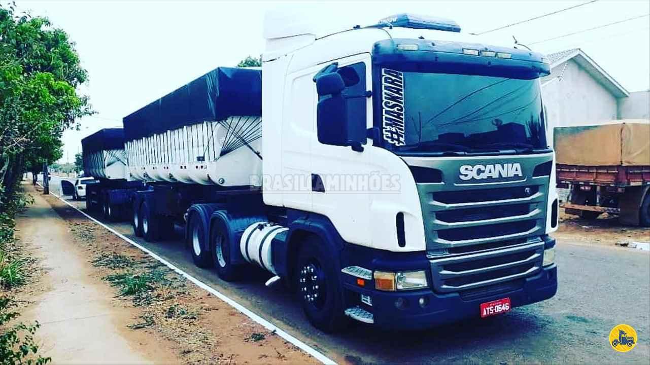 CAMINHAO SCANIA SCANIA 124 420 Cavalo Mecânico Traçado 6x4 Brasil Caminhões Sinop SINOP MATO GROSSO MT