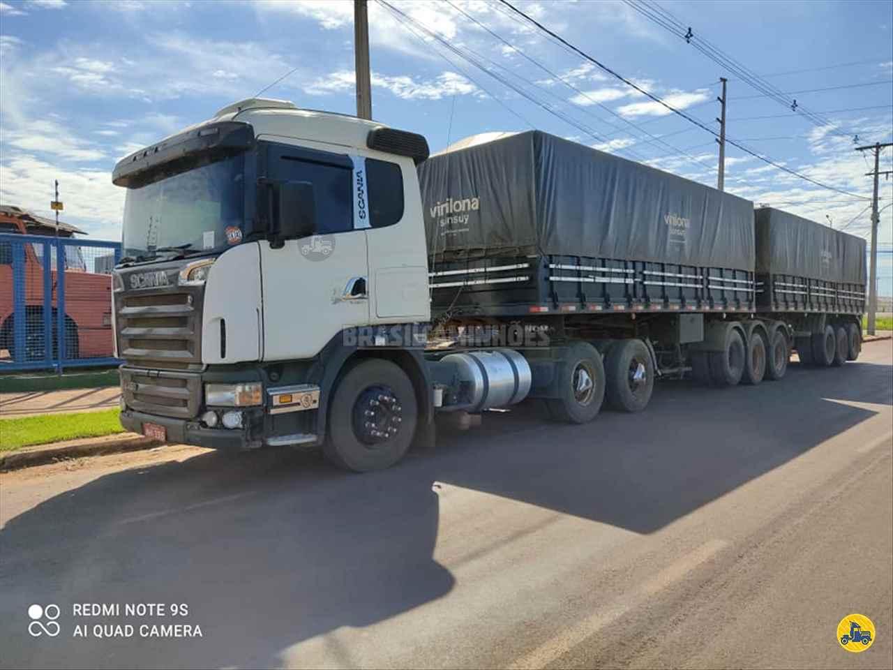 CAMINHAO SCANIA SCANIA 124 420 Carga Seca Traçado 6x4 Brasil Caminhões Sinop SINOP MATO GROSSO MT